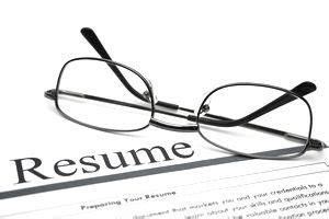 Resume career profile template
